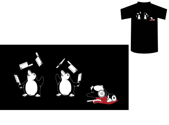 Clumsy Penguins